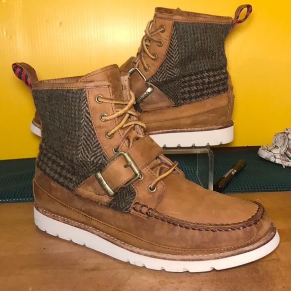 Sale Polo Saddleworth Leather Boots